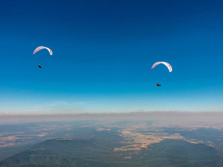 Вдъхновяващ полет с живата легенда Antoine Girard! Снимка: Теодора Величкова